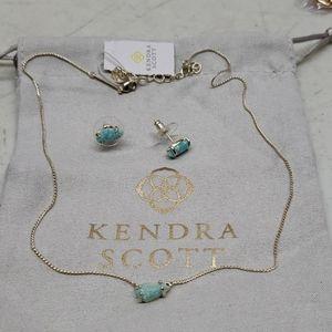 Kendra Scott Jayde Mint Set